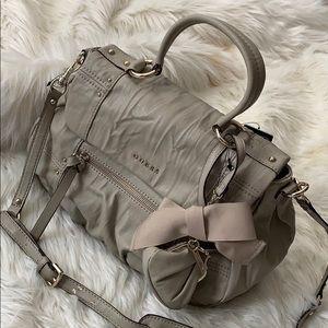 Guess grey purse .